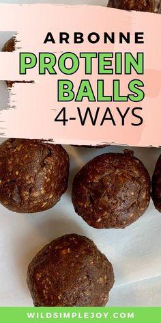 Arbonne Protein Ball Recipe Chocolate