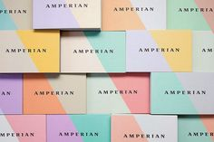 Good design makes me happy: Project Love: Amperian Business Cards