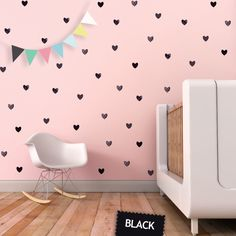 Items similar to Hearts Wall Decal Girl Room Decor Valentines Heart Wall Decor Kids Decor Pink Heart Wall Decal Kids Decal. Hearts Children Wall Decal on Etsy Childrens Room, Baby Wall Decals, Deco Stickers, Heart Wall Decor, Heart For Kids, Little Girl Rooms, Kids Decor, Kids Bedroom, Kids Rooms