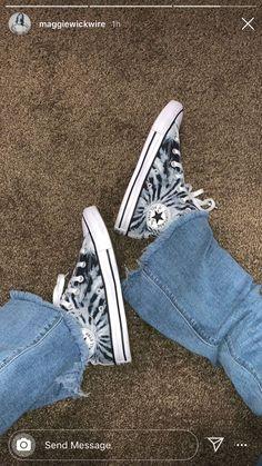 Dr Shoes, Hype Shoes, Sock Shoes, Me Too Shoes, Shoes Sneakers, Mode Converse, Tie Dye Converse, Converse High, Look Hip Hop
