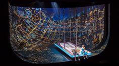 Es Devlin creates bowl-shaped set as backdrop for virtual reality-themed play