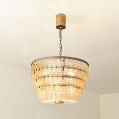 Carlo Chandelier Lamp Bulb, Glass Chandelier, Chandeliers, Organic Glass, Office Interior Design, Innovation Design, Mid Century, Sconces, Bronze