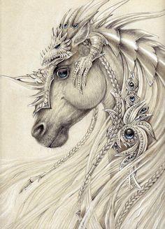 Elven horse by Anwaraidd on deviantART