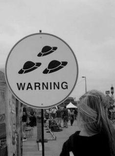 WARNING UFO PRESENT!!