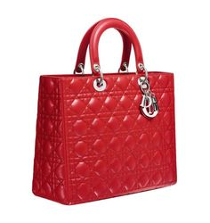 Lady Dior rossa