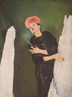Gleb Derujinsky Fur   Harper's Bazaar 1959