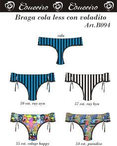 Braga cola less con voladito.