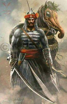 Hindu rajput warrior