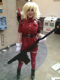This is what I call a good cosplay