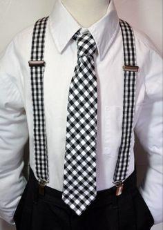 Suspenders and Necktie Set for Boys or Men  in by MeandMatilda, $52.95