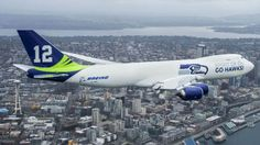 Boeing unveils Seattle Seahawks 747 plane | Fox News