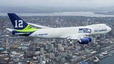 Boeing unveils Seattle Seahawks 747 plane | Fox News