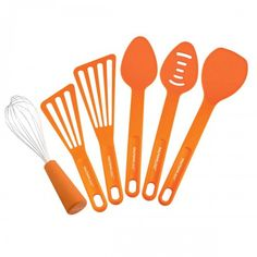 Add some spring color to your kitchen with the Rachael Ray 6-Piece Tool Set, available at the Food Network Store.