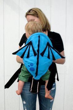 Decorative Baby Dragon Carrier Cover  Baby by NaturallyCraftyShop, $64.00