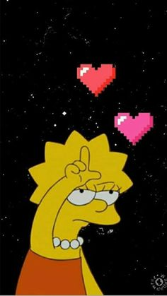 A cool Lisa Simpson's wallpaper 😁 Tumblr Wallpaper, Cartoon Wallpaper, Simpson Wallpaper Iphone, Trippy Wallpaper, Mood Wallpaper, Cute Disney Wallpaper, Wallpaper Iphone Cute, Cellphone Wallpaper, Aesthetic Iphone Wallpaper