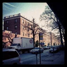 Imposing Cambridge Court.  #JacksonHeights #NYC #winter #QueensLove #QNSLUV (at Cambridge Court)  Cambridge Court, 85th Street between 37th and Roosevelt avenues, Jackson Heights, 18 December 2008. (Photograph by Elyaqim Mosheh Adam.)