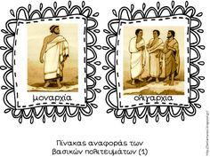 Πηγαίνω στην Τετάρτη...: Ιστορία 2η Ενότητα - Κεφάλαιο 6: Τα πολιτεύματα στην αρχαία Ελλάδα (28 χρήσιμες συνδέσεις)