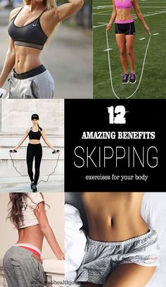 12 amazing benefits of skipping exercises for your body