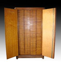 Early / Tall 20th C. Italian Wood Coin Cabinet, ex-King - 4