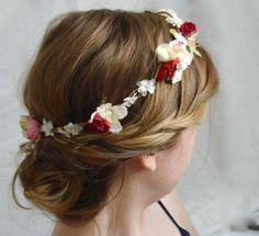 hm, a flower head wreath? Flower Head Wreaths, Field Of Dreams, Mehendi, Flower Power, Jewelry Ideas, Personal Style, Bouquet, Nails, Floral