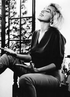 Marilyn Monroe photographed by Allan Grant, August 1962.