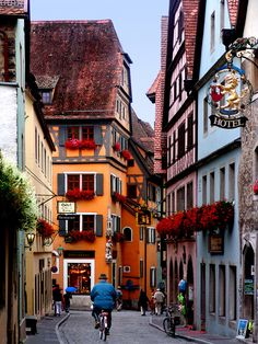 Rothenburg, Germany- easily one of our favorite towns we've been to!