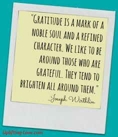 Thankful Thursdays 2013: Expressing Gratitude for Everyday Living
