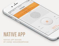 """다음 @Behance 프로젝트 확인: """"Skeuomorphic UI : Native App Design"""" https://www.behance.net/gallery/21522593/Skeuomorphic-UI-Native-App-Design"""