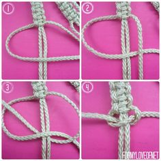DIY Macrame Wall Hanging Tutorial | ForMyLoveOf.net
