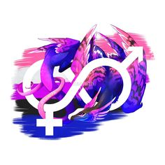 """Genderfluid Pride Dragon"" by kaenith | Redbubble"