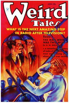 Weird Tales, 1935, cover by Margaret Brundage.