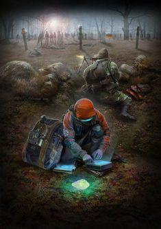 The coming nightmare Arte Zombie, Zombie Art, Apocalypse Art, Apocalypse Survival, Dark Fantasy, Fantasy Art, Zombies, Post Apocalyptic Art, Zombie Attack