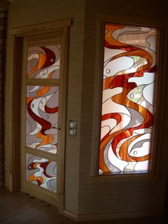 Stained glass by Linda Voiceha