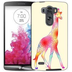 LG G3 Tye- Dye Giraffe Slim Case