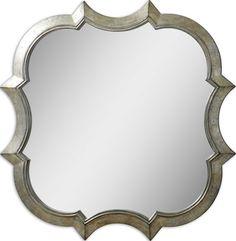 Uttermost Farista Antique Silver Mirror 09520