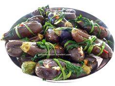 yetur'la lezzet kareleri.com: patlıcan turşusu ve kaşık turşusu Kung Pao Chicken, Sausage, Beef, Vegetables, Ethnic Recipes, Food, Bulgur, Food And Drinks, Meat