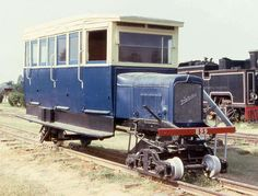 Dodge Brothers conversion to rail with a Crossley engine