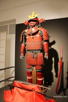 """Samurai armor and katanas from exhibition """"Japón Honor y Tradición"""" (Fuengirola, Spain)"""