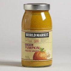 One of my favorite discoveries at WorldMarket.com: World Market® Pumpkin Pasta Sauce