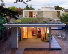 14 espectaculares viviendas sostenibles con el jardín en el tejado