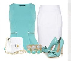 Turquoise & White Summer Collection