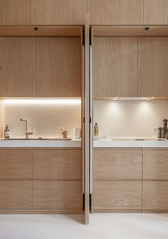 Modern Kitchen Gallery of Apartament in Argentona Street / YLAB Arquitectos - 4 - Image 4 of 28 from gallery of Apartament in Argentona Street / YLAB Arquitectos. Photograph by YLAB Arquitectos Living Room Kitchen, Interior, Home, Apartment Interior, Hidden Kitchen, Interior Design Kitchen, Interior Design, Kitchen Style, Modern Farmhouse Kitchens