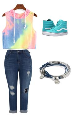 """""""Untitled #26"""" by lovey101 on Polyvore featuring Melissa McCarthy Seven7, Vans, Lizzy James and plus size clothing"""