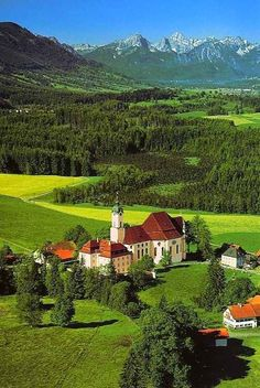 Wieskirche, Bayern, Germany           by Mafiax