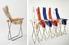 受賞歴多数の国産の名作折りたたみ椅子「Nychair・X」が復活! | タブルームニュース Camping Chair, Outdoor Camping, Camping Style, Room Planning, Folding Chair, My Room, Glamping, New Product, Interior Architecture