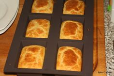 Kartoffelfaser-Brötchen (Low Carb / Keto) - Another! Low Carb Bread, Low Carb Keto, Lchf, Bread Recipes, French Toast, Breakfast, Food, Vegan, Inspiration