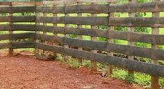 Used Tire Corral Fencing 1