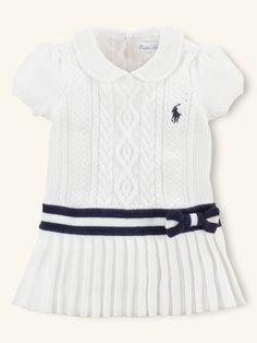 Ralph Lauren infant dress but little girls are so much cuter