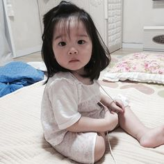 Cute Asian Babies, Korean Babies, Korean Girl, Cute Chinese Baby, Chinese Babies, Cute Little Baby, Little Babies, Gangsta Girl, Ulzzang Kids