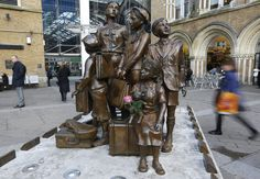 Holocaust Memorials Around The World -orphan Jewish children whose parents gave them up to the transports in order to save them...and so they were saved.